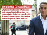 Ce a făcut Radu Mazăre în prima zi petrecută în România, după revenirea din Madagascar