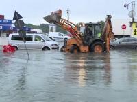 Apa Nova: În Pantelimon s-a înregistrat o ploaie ce apare o dată la 100 de ani