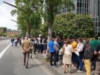 Alegeri europarlamentare. Coada Barcelona - 3