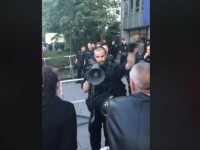 VIDEO. Cum au încercat polițiștii germani să-i ajute pe românii din Munchen să voteze