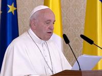 """Papa Francisc: """"Vă încurajez să continuați să lucrați pentru a consolida instituțiile"""""""