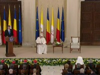 """Iohannis, mesaj la Cotroceni pentru Papa Francisc: """"Este o mare bucurie pentru mine"""""""