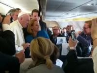 Gestul făcut de Papa Francisc pentru Andreea Esca.