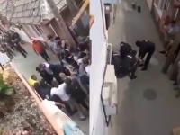 Zeci de persoane s-au bătut de 1 Mai la Blaj. A fost nevoie de intervenția mascaților
