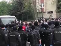Proteste violente în Istanbul. Zeci de persoane au fost arestate în piața Taksim