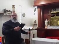 Reacția unui preot surprins de cutremur în timpul slujbei. Ce a făcut când altarul a început să se miște