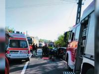 Un bărbat care era în drum spre centrul de carantină a murit într-un accident rutier