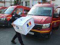 20 de camioane din România, pline cu echipamente sanitare, au plecat la Chișinău