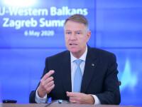 Iohannis: Deşi UE traversează un moment de criză, nu îşi abandonează partenerii din Balcani
