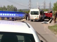 """Accident neobișnuit într-o localitate din Cluj. """"M-a bătut soarele în ochi"""