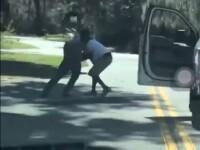 VIDEO. Momentul șocant în care un bărbat este împușcat în timp ce face jogging