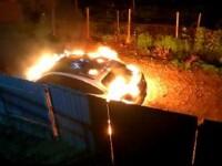 Maşina Loredanei Chivu, incendiată de o femeie care a confundat-o cu presupusa amantă a soţului ei