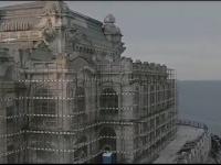 După decenii de tăcere, Cazinoul din Constanța vorbește. Mesajul incredibil descoperit în zidurile clădirii