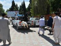 Zeci de morţi şi răniţi într-un atac sinucigaş în timpul unei ceremonii funerare în Afganistan
