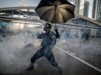 În Hong Kong a apărut înghețata cu aromă de gaz lacrimogen. Din ce e făcută