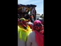 VIDEO. Peste 100 de persoane au participat la înmormântarea unui tânăr în Vrancea