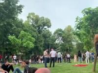 Gabriela Firea explică de ce nu au putut polițiștii locali să intervină la petrecerea din Herăstrău