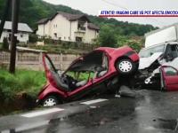 Doi soți au murit într-un accident cumplit, în Valea Ursului. Cum s-a întâmplat tragedia