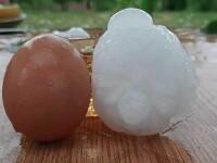 Grindină cât oul de găină în Bulgaria. Mai multe orașe, grav afectate de furtuni