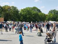 Proteste masive în Germania. Mii de oameni se revoltă împotriva restricțiilor