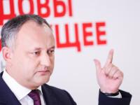 Președintele Igor Dodon sare în apărarea premierului Chicu, după atacul la adresa României