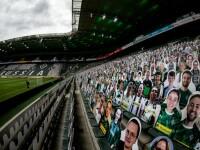 Cum au putut 13.000 de fani să asiste din tribune la un meci din Bundesliga, în plină pandemie