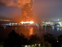 Incendiu de amploare în San Francisco. Au intervenit 130 de pompieri
