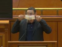 """VIDEO: Ponta i-a promis premierului Orban că va purta mască de protecție """"și la baie"""""""