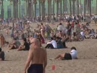 Coronavirus în lume, 25 mai. Plajele din Barcelona și Palermo au fost pline la finalul săptămânii
