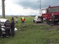 Accident violent pe DN1. Unde se duceau oamenii