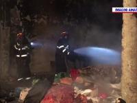 Incendiu în centrul Capitalei. Ce au găsit pompierii înăuntru