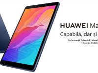Tableta Huawei MatePad T8 a fost lansată în România. Dispozitivul perfect pentru studiu