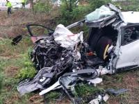 """Polițistul care a fost martor la accidentul în care a murit o familie, în Galați: """"Am pierdut o luptă"""""""