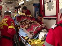 """Doi tineri din Dolj au fost răniți grav într-o explozie. Încercau să facă un """"cocktail Molotov"""""""