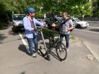 Mersul cu bicicleta în Capitală, o aventură. Primăria are 10 mil. € pentru piste, dar nu îi folosește