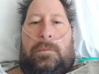 Un bărbat care susținea că pandemia este o conspirație a ajuns la spital cu Covid-19, iar soția sa a fost intubată