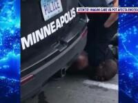 Ofițerul american, filmat în timp ce stătea cu genunchiul pe gâtul lui George Floyd a fost arestat