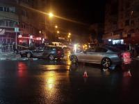 Accident violent în Târgoviște. O tânără de 20 de ani a ajuns la spital
