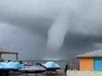 Imagini de colecție surprinse în SUA. Un bărbat a reușit să filmeze o tornadă spectaculoasă