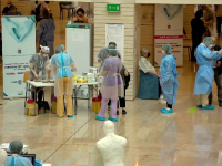 La cât a ajuns rata de infectare în Capitală