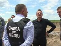 Descinderi cu mascați și Garda de Mediu în Dâmbovița. Au fost descoperite deșeuri periculoase