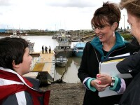 Sarah Palin: Astept sa ma trezesc maine dimineata ca vicepresedinte!