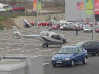 Fara elicoptere stationate in parcarile hypermarketurilor!