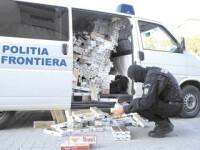 500.000 de pachete de tigari de contrabanda, capturate in portul Constanta