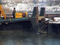Nava romaneasca scufundata in Dunare nu va fi scoasa la suprafata