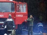 Un incendiu devastator a facut praf si pulbere un depozit din Ilfov