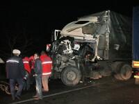 Accident in lant pe DN7, provocat de teribilismul unui sofer