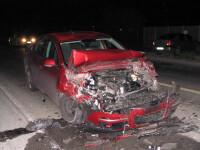 Grav accident in Buzau. Un tanar a murit dupa ce a intrat cu masina in pom