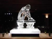 Cele mai spectaculoase statui din gheata, expuse in Belgia