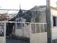 Case distruse de un incendiu violent, in Delta Dunarii